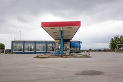 (Giorgos Mantas) Tags: new topographic banal gas station colour