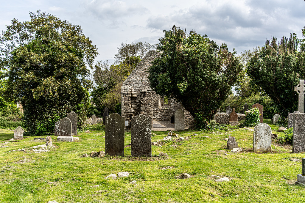 TULLY CHURCH AND CHURCHYARD [LEHAUNSTOWN LANE DUBLIN]-152334
