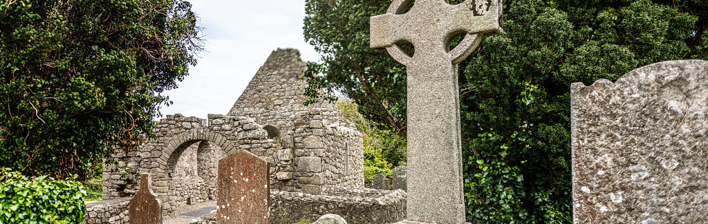 TULLY CHURCH AND CHURCHYARD [LEHAUNSTOWN LANE DUBLIN]-152353