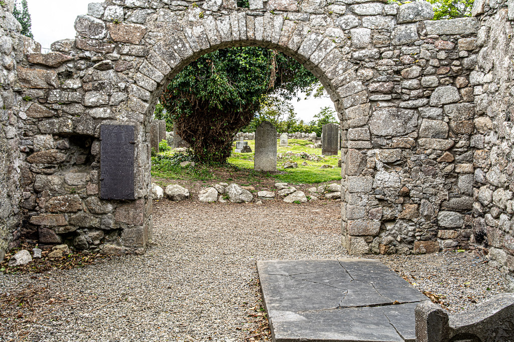 TULLY CHURCH AND CHURCHYARD [LEHAUNSTOWN LANE DUBLIN]-152361