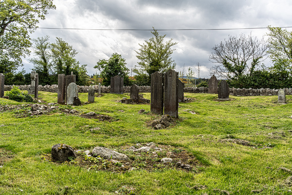TULLY CHURCH AND CHURCHYARD [LEHAUNSTOWN LANE DUBLIN]-152365