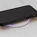 iPhone schnell aufladen: Universell einsetzbare, stylische Limxems Qi Induktionsladestation mit blauem Licht