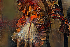 Lirio (seguicollar) Tags: art arte artedigital texturas virginiaseguí imagencreativa photomanipulation iris lirio flor flower pétalo polén