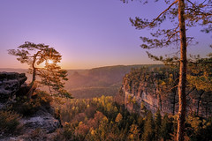 new day is coming (Tofubratwurst) Tags: exploration elbsandsteingebirge sachsen sächsischeschweiz sandstein sonyalpha7rm2 sony sonnenaufgang sonyfe1635mmf4zaoss kiefer stein fels rock gebirge mountains saxony saxonswitzerland heimat hiking ostdeutschland wandern wanderlust tofubratwurst sunrise nature natur drausen outdoor