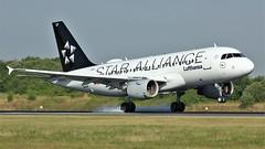 D-AILF (AnDyMHoLdEn) Tags: lufthansa lufthansagroup staralliance a319 egcc airport manchester manchesterairport 05r