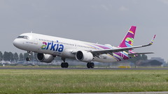 4X-AGH Airbus A321-251NX (2) (Disktoaster) Tags: eham ams schiphol airport flugzeug aircraft palnespotting aviation plane spotting spotter airplane pentaxk1