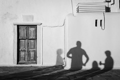 Untitled (AjayPPhotography) Tags: mykonos greece door shadows