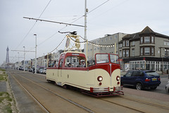 Seaside Scenes, Blackpool 23/02/2019 (Gary S. Crutchley) Tags: blackpool tram seafront esplanade promenade golden mile seaside sea side transport public uk great britain england united kingdom nikon d800 history heritage illuminations travel ocean seascape coast coastal marine lancashire fylde