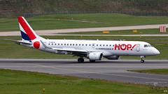 F-HBLB E190 HOP!