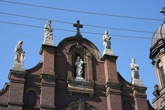 Holy Rosary Church (Ben Shaffer) Tags: cleveland ohio church catholic romanesquerevival pilaster niche
