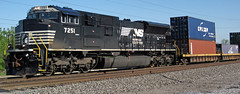 Norfolk Southern Railway # 7251 diesel locomotive (Columbus, Ohio, USA) 1 (James St. John) Tags: