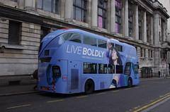IMGP9324 (Steve Guess) Tags: waterloo lambeth london england gb uk newbusforlondon newroutemaster nbfl nb4l borismaster borisbus wright fitbit advert aoa lt621 ltz1621