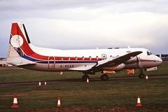 G-BEKE Avro 748 series 1 Janes Aviation CVT 22-03-93 (cvtperson) Tags: gbeke avro 748 series 1 janes aviation coventry airport cvt egbe