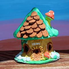 I made it! My second fairy house! (Argyro Poursanidou) Tags: craft handmade house home fairy diy