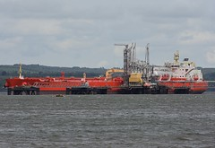 Eagle Brasilia (Gerry Hill) Tags: forth road bridge south queensferry harbour river water firth replacement crossing scotland north eagle brasilia imo 9795062 crude oil tanker hound point