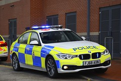 FJ68 AXN (S11 AUN) Tags: derbyshire police bmw 330d xdrive 3series saloon anpr traffic car roads policing unit rpu motor patrols 999 emergency vehicle fj68axn
