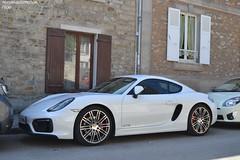 Porsche Cayman GTS 981 (Monde-Auto Passion Photos) Tags: voiture vehicule auto automobile porsche cayman gts coupé sportive blanc white france barbizon