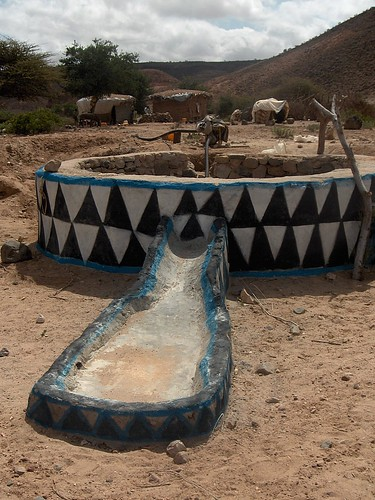 Well and trough, Assamo_AliSabieh, Djibouti