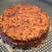 Gesunde Ernährung mit dem pflanzlichen Burger-Patty von Beyond Meat, in der Pfanne gebraten, für ein veganes Essen und Gluten und Soja