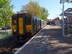 150246 Exmouth (2) (Marky7890) Tags: gwr 150246 class150 sprinter exmouth railway devon avocetline train