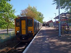150246 Exmouth (1) (Marky7890) Tags: gwr 150246 class150 sprinter exmouth railway devon avocetline train