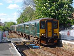 143603 & 150216 Topsham (1) (Marky7890) Tags: 143603 class143 pacer gwr 150216 class150 sprinter 2f39 topsham railway devon avocetline train