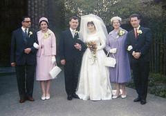 Pete's Dad & Stepmum, Pete, Jen, Elsie & Brian (Brett Jordan) Tags: brett brettjordan httpx1brettstuffblogspotcom oldphotographs scannedphotos