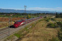 Retour en Thalys pour ces vacanciers (railmax07) Tags: train ferroviaire tgv thalys lgvrhonealpes ln4 lgv thalyspba thalyspbka marseille bruxelles amsterdam valencetgv