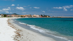 La Caletta, Sardegna, Italy (David Lea Kenney) Tags: travel explore beach beaches beachscape seascape landscape blue bluesky sky coast coastal coastline sardegna sardinia italy shore shireline mediterranean