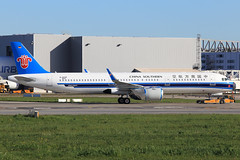 China Southern Airlines Airbus A321-253N D-AVXF (B308D) (widebodies) Tags: hamburg finkenwerder xfw edhi widebody widebodies plane aircraft flughafen airport flugzeug flugzeugbilder china southern airlines airbus a321253n davxf b308d