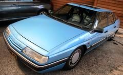 Citroën XM 2.0i (Skylark92) Tags: vijfhuizen northholland noordholland holland netherlands nederland citroën citromobile onk origineel nederlands kenteken xm 20i 1990 yg86vx
