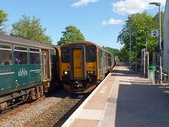 150246 Topsham (2) (Marky7890) Tags: gwr 150246 class150 sprinter topsham railway devon avocetline train