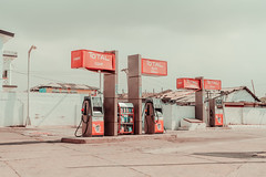 A gas station at Accra (elsableda) Tags: accra ghana petron station africa west petrol