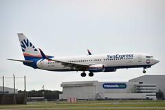 SunExpress TC-SNO Boeing 737-8HC Split Scimitar Winglets cn/40776-3273 @ Buitenveldertbaan EHAM / AMS 16-08-2018 (Nabil Molinari Photography) Tags: sunexpress tcsno boeing 7378hc split scimitar winglets cn407763273 buitenveldertbaan eham ams 16082018