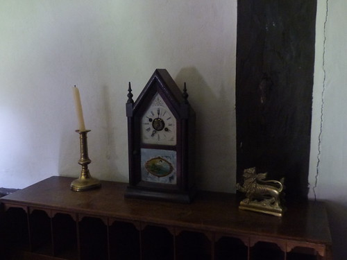 Canons Ashby House - Cook's Room - clock