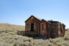 After All This Time (nedlugr) Tags: california ca usa bodie bodiestatehistoricpark monocounty oncewashome house abandoned ghosttown ruraldecay ruralwest picketfence weatheredwood weathered door sagebrush easternsierras