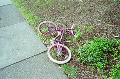 Bike (*Jason) Tags: con tax g2 film expired kodak gold 200 35mm