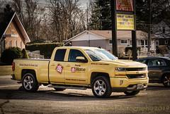 Big Yellow Truck (HTT) (13skies) Tags: yellowtruck homehardware business advertising htt yellow pickuptruck drive move work truckthursday happytruckthursday sonya57 singleshothdr chromerims sharp