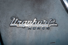 Urquhart's of Huron (William 74) Tags: chrome logo oldcar autodealership