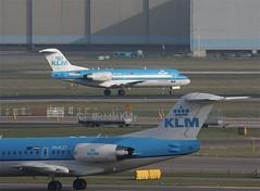 KLM                        Fokker 70                             PH-KZT (Flame1958) Tags: klm klmf70 fokker fokker70 phkzt ams 230315 0315 2015 7894