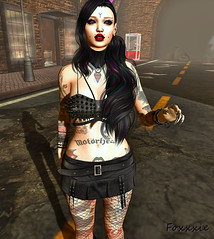 feeling a little punk rock today, are you? (F oㄨㄨㄨ) Tags: secondlife punkrock alternative realevil cerberusxing suicidalunborn cubiccherry glutz magika nana vtwins blueberry sinfulneeds