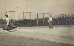 Tennis match anno 1900 (Liberas / Liberaal Archief) Tags: tennismatch tennis sport 1900 liberaalarchiefvzw liberas brunin gent