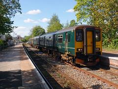 143603 & 150216 Topsham (2) (Marky7890) Tags: 143603 class143 pacer gwr 150216 class150 sprinter 2f39 topsham railway devon avocetline train