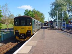 150001 Exmouth (1) (Marky7890) Tags: gwr 150001 class150 sprinter 2b82 exmouth railway devon avocetline train