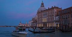 Blue hour in Venice (pe_ha45) Tags: bluehour blauestunde canalgrande venezia venedig venise venice gondola gondel