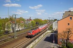 DB 143 002 + RB 26435 Potsdam Hbf - Berlin Wannsee  - Potsdam Babelsberg (Rene_Potsdam) Tags: deutschebahn potsdambabelsberg br143 railroad treinen trains trenes züge europe europa brandenburg deutschland