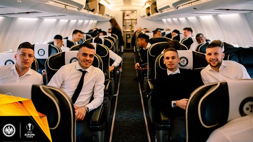 Eintracht Frankfurt - The 'Eagles' in flight to London for the Europa League semi-final 2nd leg v Chelsea