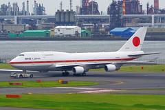 Boeing 747-47C, 20-1102, JASDF (tkosada.mac) Tags: jasdf boeing b744 tokyointernationalairport hanedaairport hnd rjtt