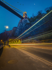 a fleeting moment in time (Wizard CG) Tags: clifton suspension bridge bristol england uk long exposure landscape epl7 architecture ed ngc world trekker micro four thirds 43 m43 olympus mzuiko digital tourist attraction outdoor serene sky park grass tree tower wizard cg nightshots night