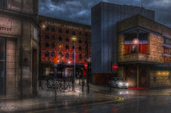 Safe Parking? (Kev Walker ¦ 10 Million Views..Thank You) Tags: architecture building city england manchester panoramic sky town water art background bridge britain buildings business canal castlefield center centre cityscape design downtown dusk europe european great kingdom landmark light metropolitan modern night places quays quayside reflection salford skyline skyscraper square symbol tourism tower travel twilight uk united urban view yellow rain car parking lancashire north west street lights